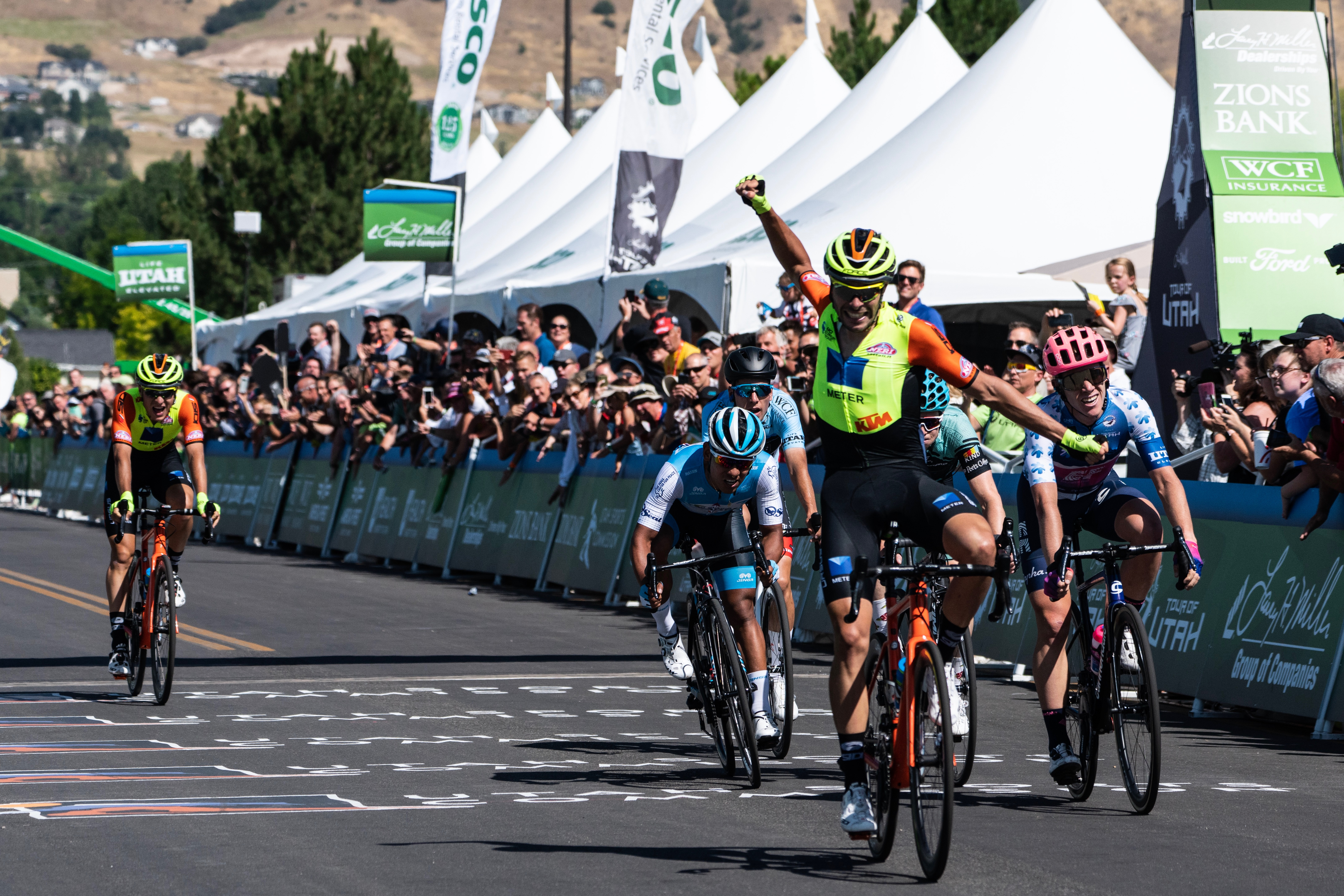 TOUR OF UTAH: UMBERTO MARENGO, AN UNFORGETTABLE FIRST WIN